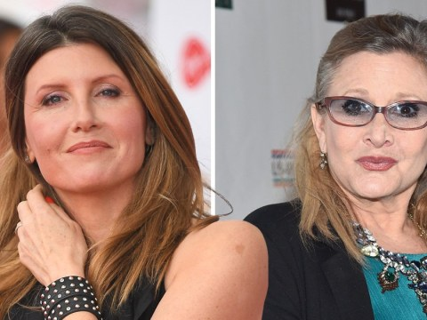 Carrie Fisher called Catastrophe's Sharon Horgan a 'c***' in off-script improvisation