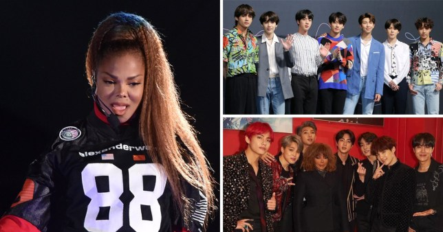 Janet Jackson and BTS are becoming the best of friends