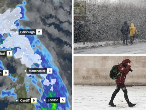 Storm Deidre to unleash heavy snow and freezing rain as temperatures drop to -5C