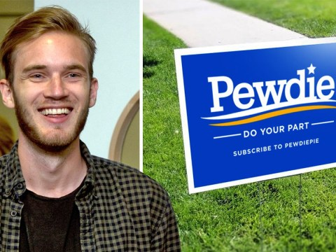 PewDiePie promotes 'Do Your Part' lawn sign merch as T-Series battle emulates presidential campaign