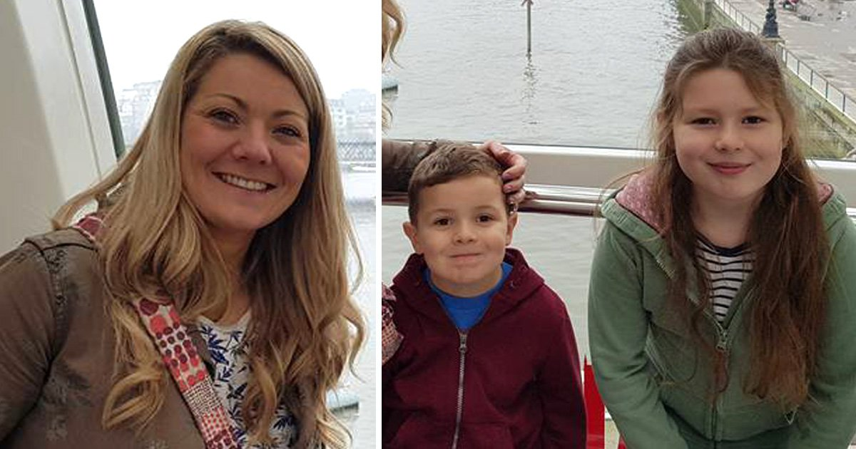 Pictured: Mum, daughter and son killed by house fire as dad fights for life