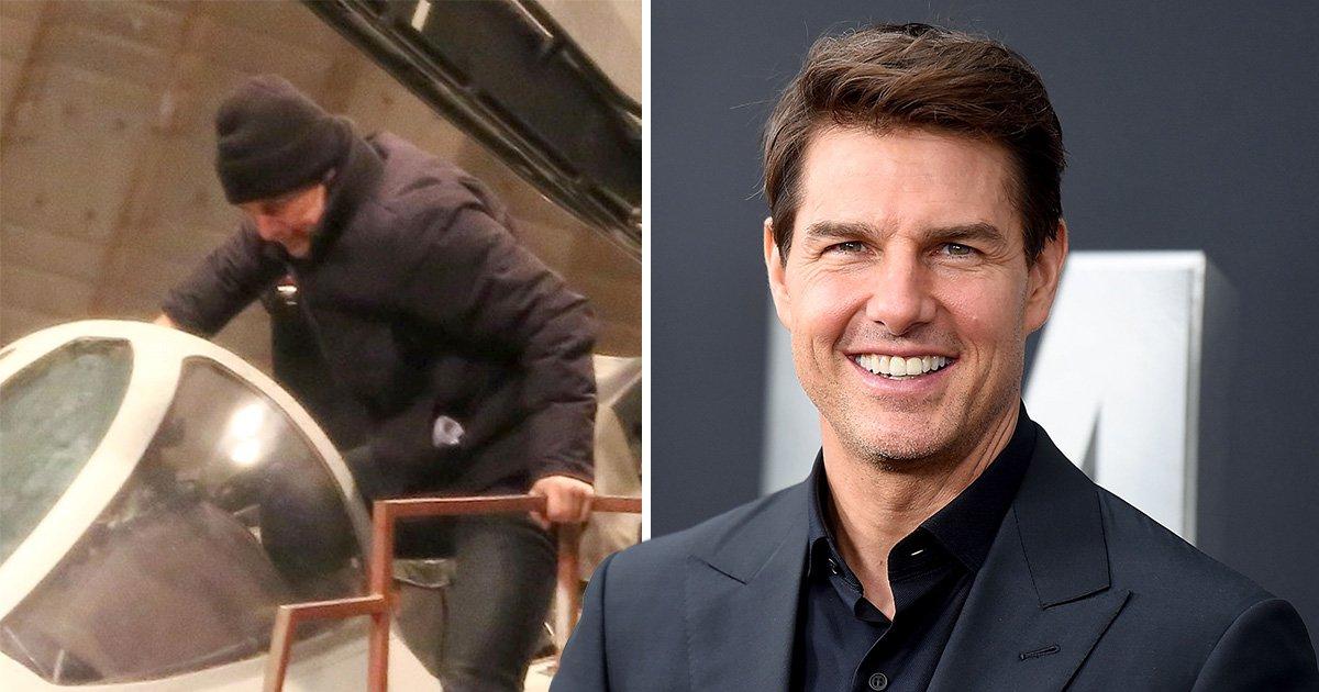 Tom Cruise climbs back into cockpit for Top Gun sequel