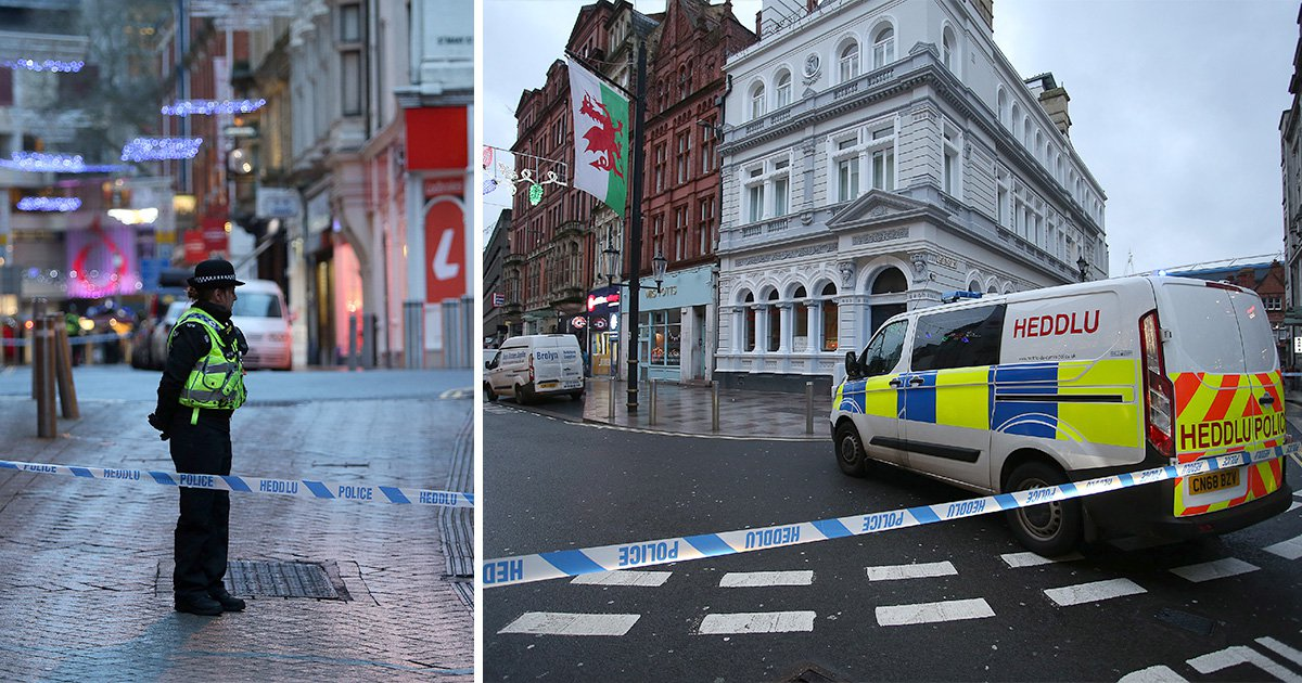 Busy Cardiff shopping street evacuated over incident at hotel