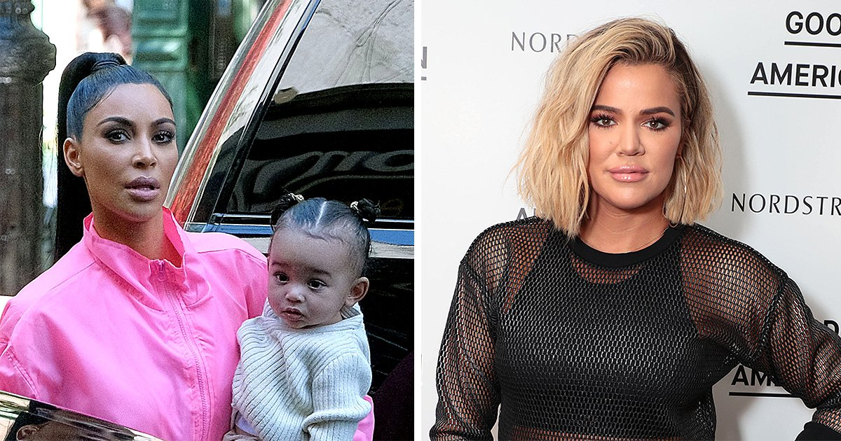 Khloe Kardashian slams 'uneducated' fan for saying baby Chicago is not Kim's biological child