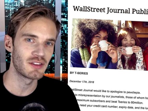 PewDiePie fans hack Wall Street Journal website to post 'public apology' as T-Series battle continues