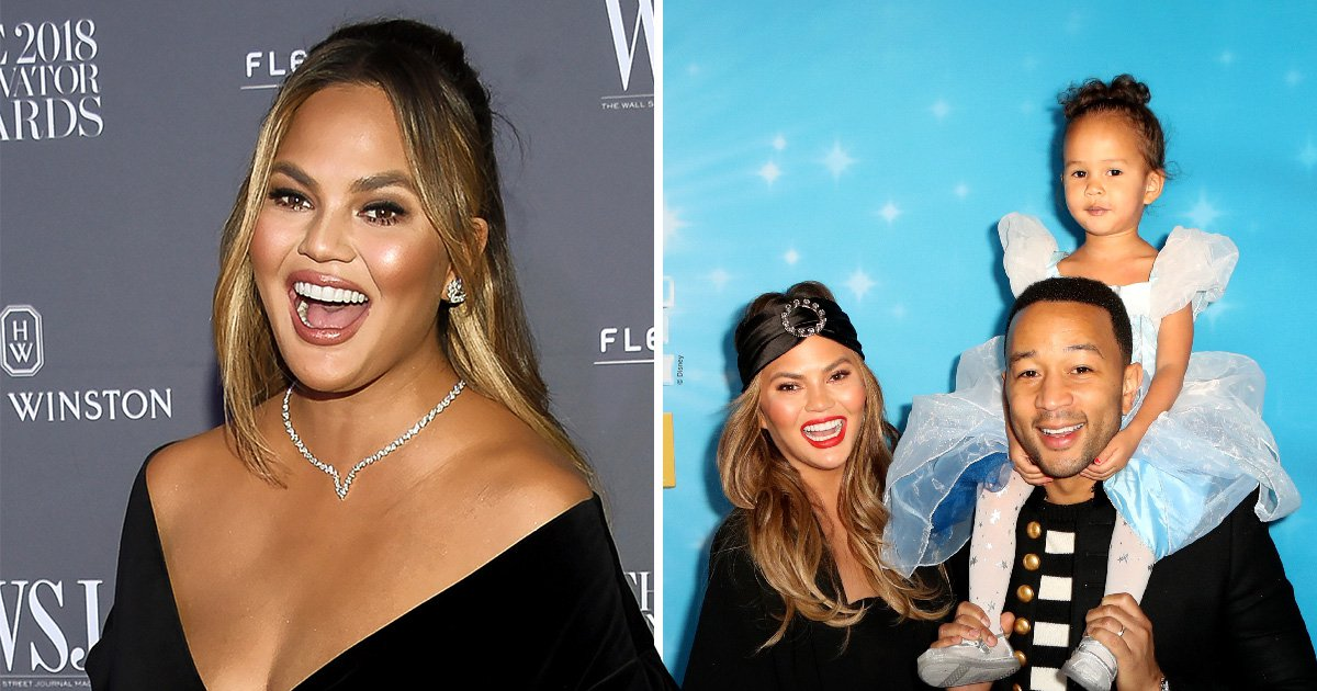 Chrissy Teigen creates whole restaurant for fussy eater Luna, and we need this sort of encouragement