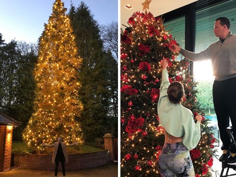 From tasteful to towering: Here are the best celebrity Christmas decorations of 2018