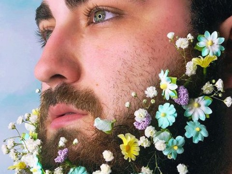 Beard bouquets are the wedding trend hairy men have been waiting for