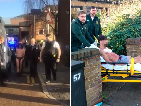 Hero wrestled 'man in underwear who stabbed three people at two GP surgeries'