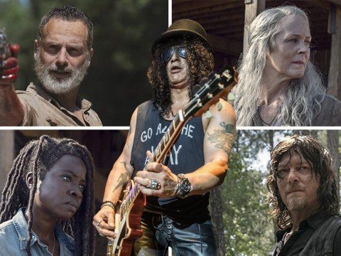 The Walking Dead rejected song written by Guns N' Roses' Slash for the opening titles