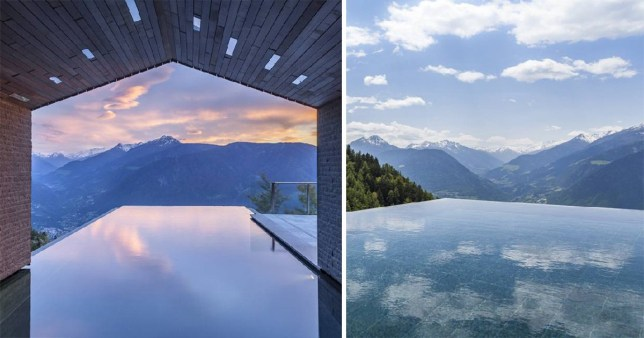 Italian Hotel Voted As Having The Best Pool With A View In The World