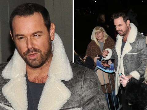 Danny Dyer greets delighted fans after smashing first Nativity performance with daughter Dani