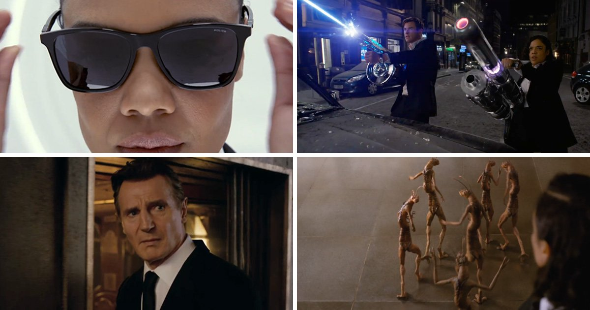 First look at Men In Black trailer as Tessa Thompson and Chris Hemsworth attempt to save us from aliens