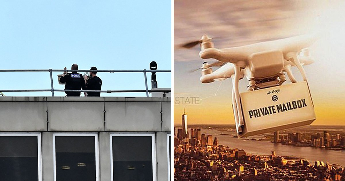 Isis threatens West with drone attacks after Gatwick Airport chaos
