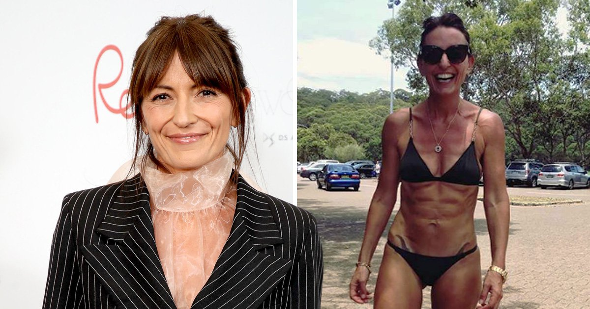 Davina McCall on biting back at skinny shamers, her 'wrinkly body' and reality of the sugar-free diet