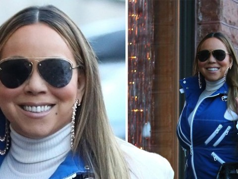 Mariah Carey is all we want for Christmas as she nails ski chic during shopping trip with boyfriend Bryan Tanaka