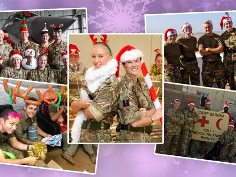Here's how our troops are spending Christmas overseas