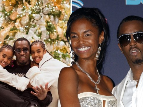 Diddy throws twin girls sweet party as they mark first Christmas without Kim Porter