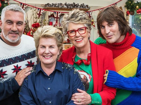 Everyone is going wild over Noel Fielding's take on the Christmas jumper as he returns to Bake Off