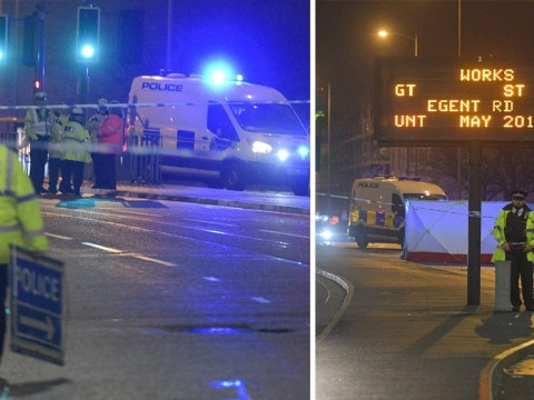 Man dies after being hit by police car on Christmas Day