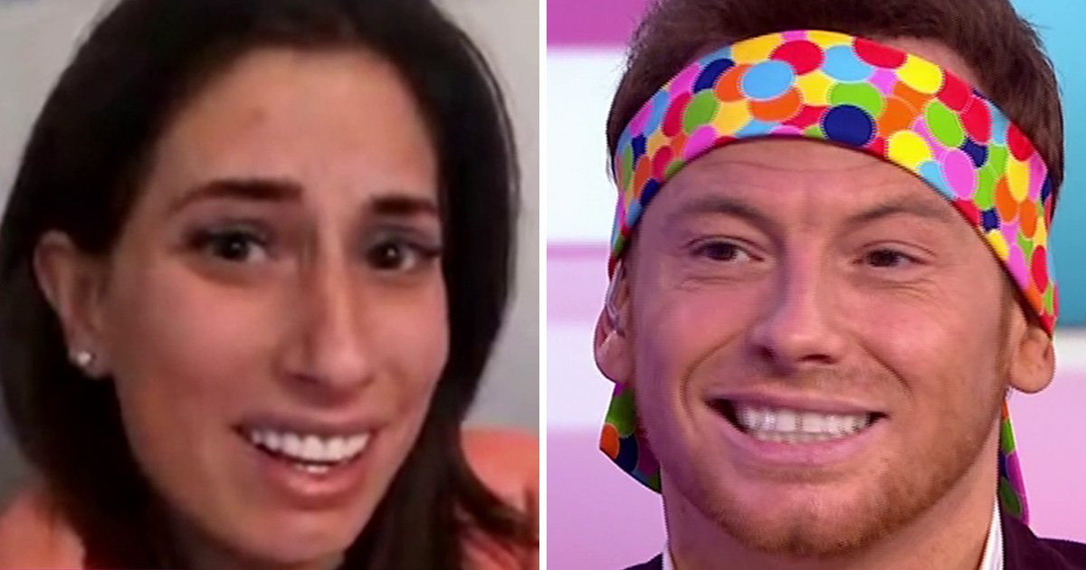 Stacey Solomon calls out Joe Swash for lying about their sex life: 'We don't wear blindfolds'