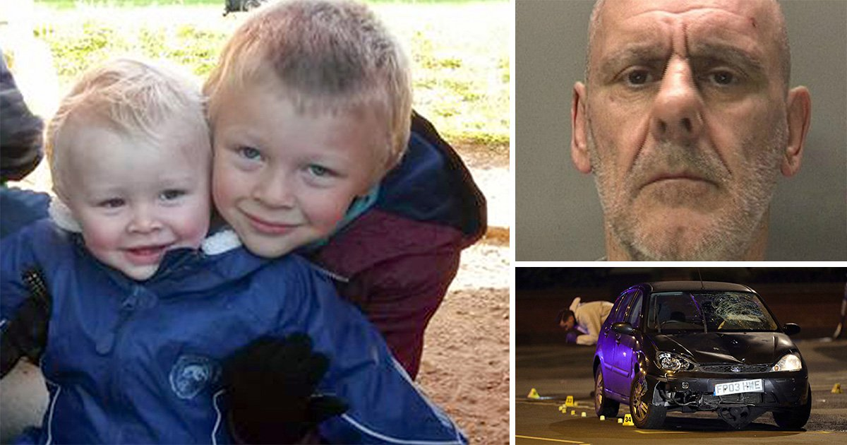 Grandma of boys killed by drug driver says 'rot in hell' after he's found dead