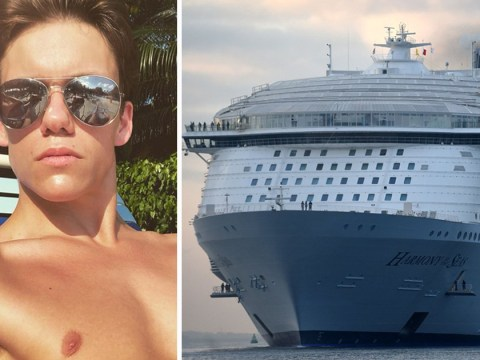 Rescuers hunt overnight for missing cruise ship entertainer who went overboard