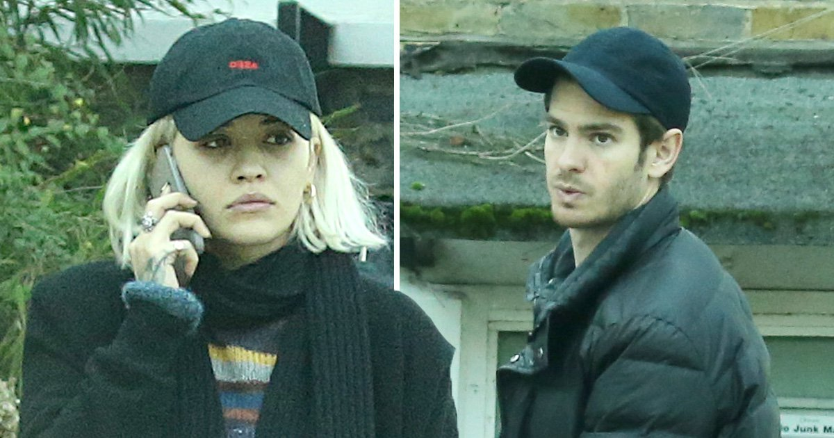 Rita Ora makes low-key morning exit from 'boyfriend' Andrew Garfield's house days after pre-Christmas stroll
