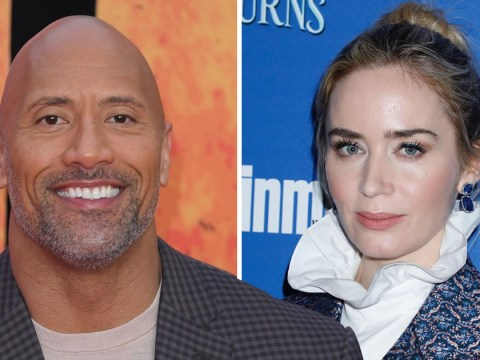 """Dwayne """"The Rock"""" Johnson 'getting paid twice' Emily Blunt's salary for Disney's Jungle Cruise"""
