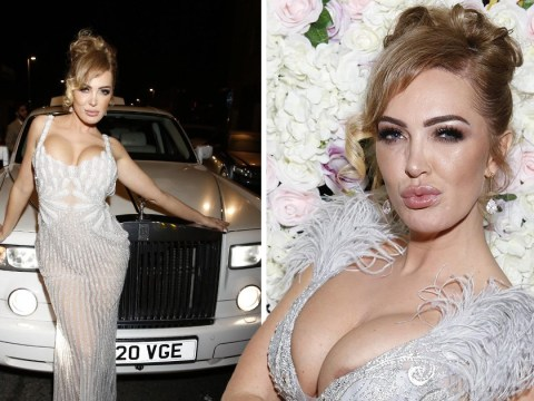 Aisleyne Horgan-Wallace is feeling herself as she celebrates 40th birthday in style