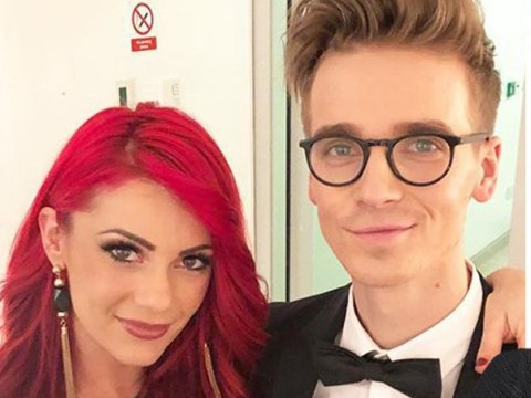 Strictly's Dianne Buswell pines for boyfriend Joe Sugg as she shares adorable couple snap