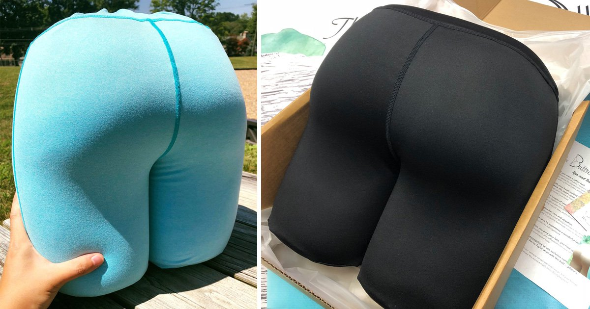 If you enjoy sleeping on butts, you can now buy a thicc bum pillow