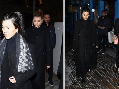 Sofia Richie looks like she's part of the family as she holidays with Scott Disick and Kourtney Kardashian in Aspen