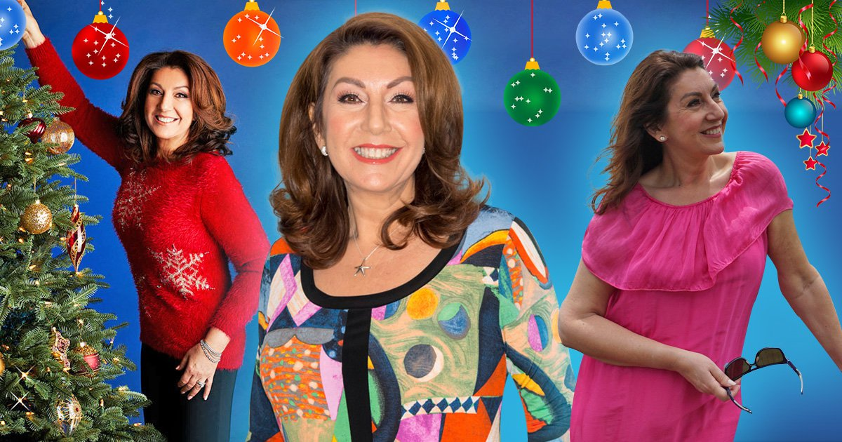 Channel 5 is airing back to back Jane McDonald all night tonight - happy New Year everyone