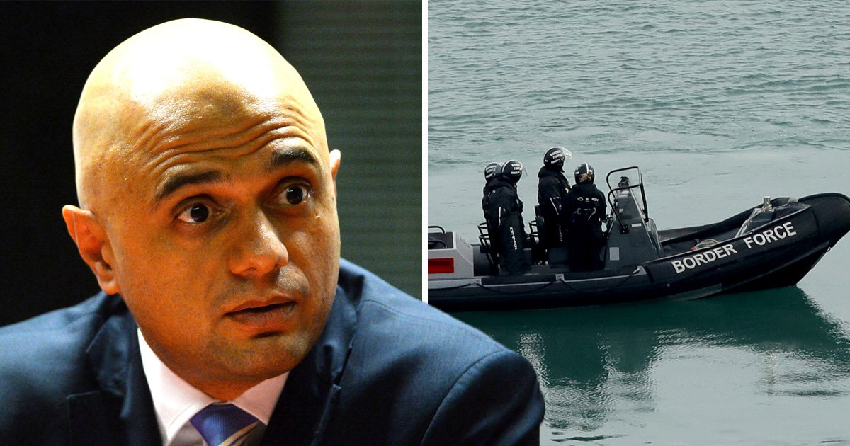 Home secretary brings back two Border Force cutters to tackle migrant crisis