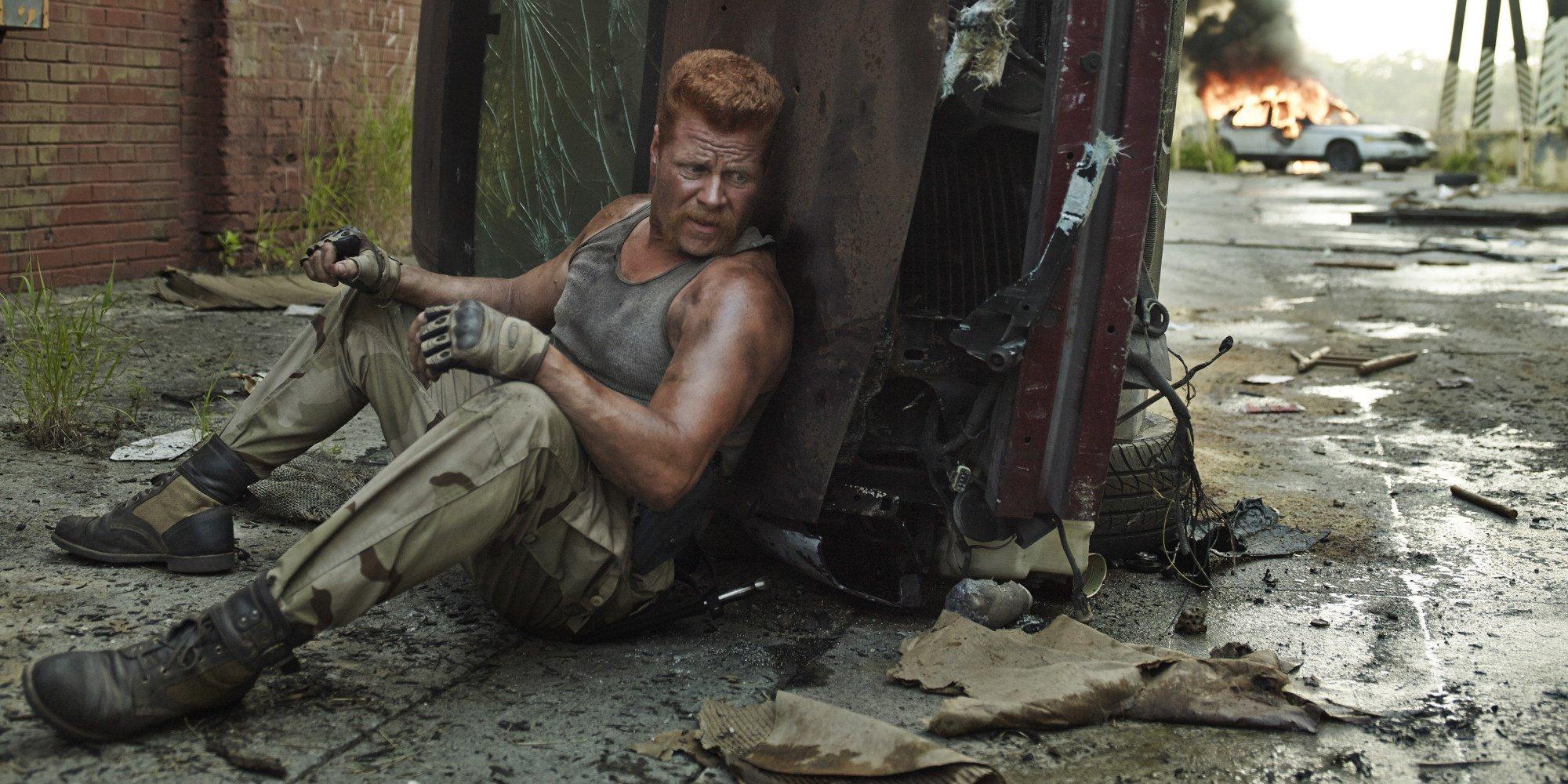 The Walking Dead's Michale Cudlitz reveals awkward mishap during sex scene