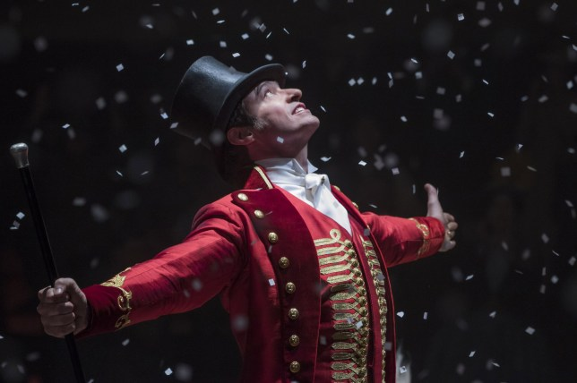 "Editorial use only. No book cover usage. Mandatory Credit: Photo by Ntavernise/20thcentury Fox/Kobal/REX/Shutterstock (9308130c) Hugh Jackman ""The Greatest Showman"" Film - 2017"