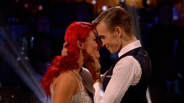"""8-12-2018 TV show """"Strictly Come Dancing"""" (series 16) Week 12 semi final Pictured: Joe Sugg Dianne Buswell PLANET PHOTOS www.planetphotos.co.uk info@planetphotos.co.uk +44 (0)20 8883 1438"""
