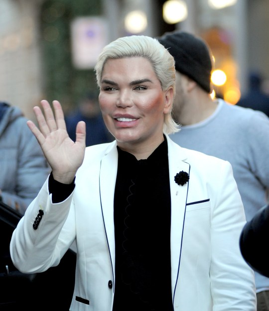 Rodrigo Alves shopping on the via Montenapoleone in Milan, Italy. Featuring: Rodrigo Alves Where: Milan, Lombardy, Italy When: 10 Dec 2018 Credit: IPA/WENN.com **Only available for publication in UK, USA, Germany, Austria, Switzerland**