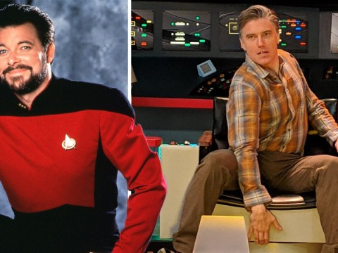 Star Trek: Discovery's Anson Mount delivers a killer Captain Riker impression