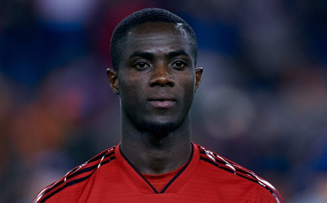 VALENCIA, SPAIN - DECEMBER 12: Eric Bailly of Manchester United looks on prior to the UEFA Champions League Group H match between Valencia and Manchester United at Estadio Mestalla on December 12, 2018 in Valencia, Spain. (Photo by David Aliaga/MB Media/Getty Images)
