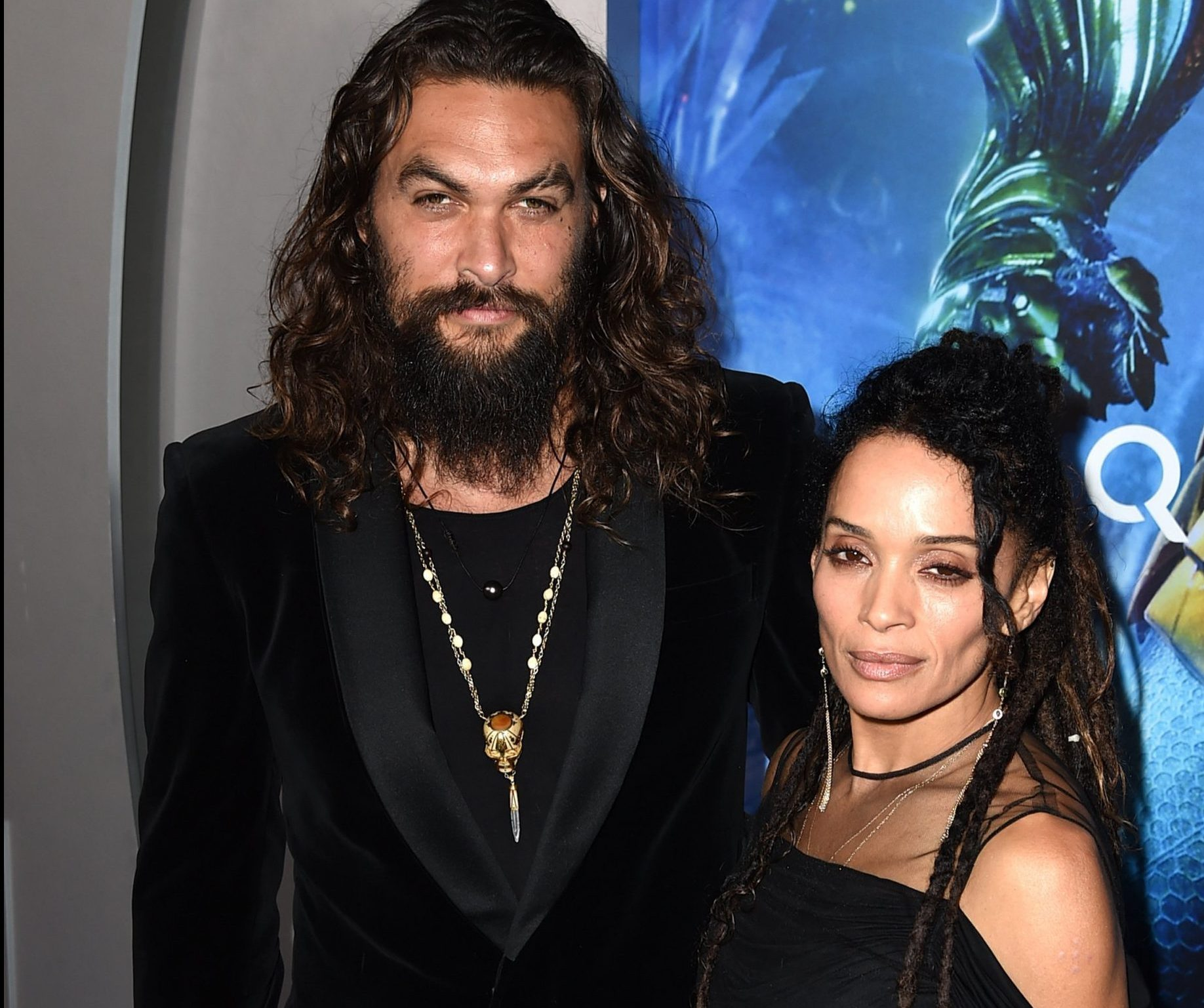Aquaman's Jason Momoa won't cut his hair and we can all thank wife Lisa Bonet