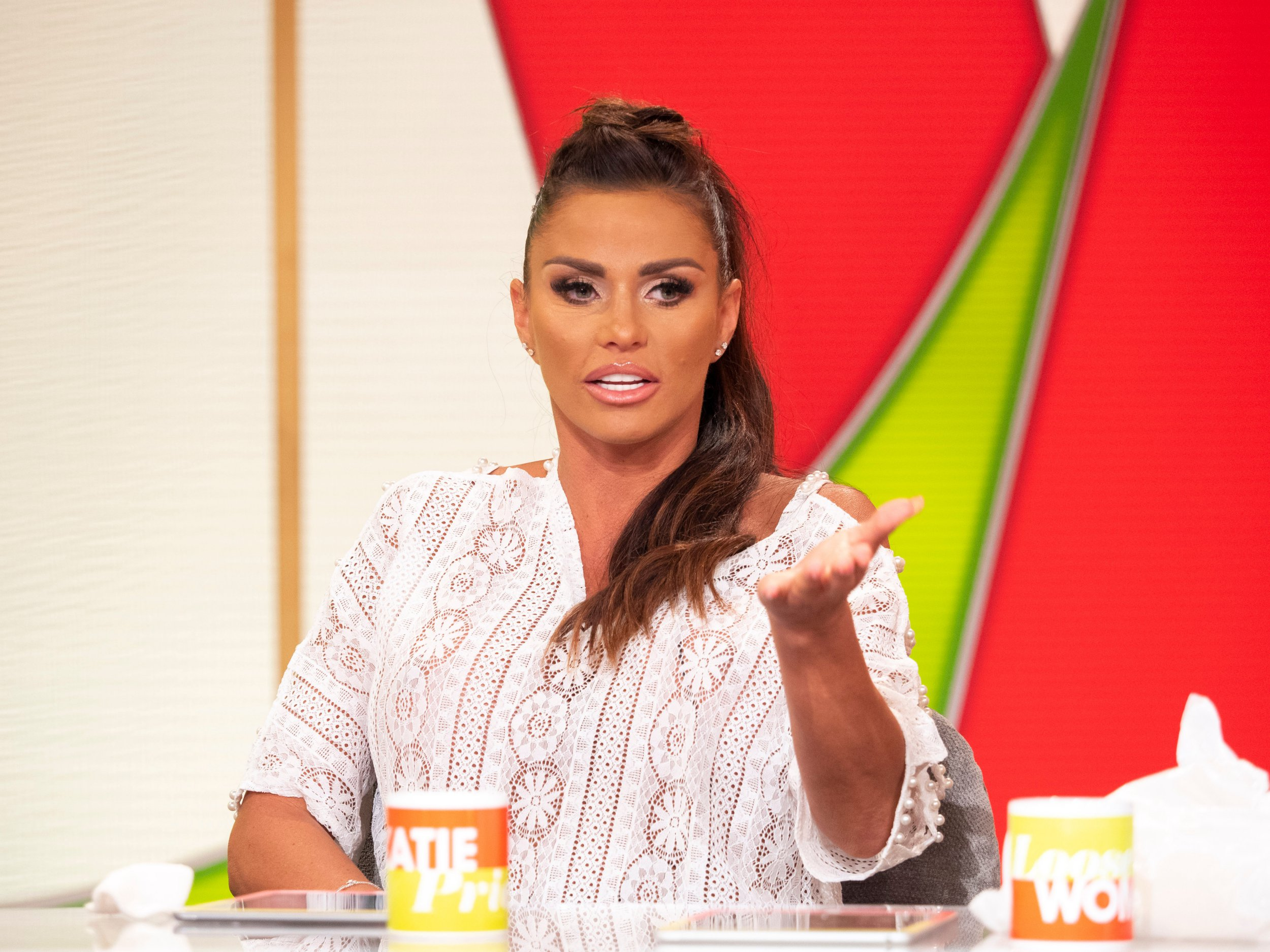 Katie Price returning to Loose Women tomorrow for explosive first interview since driving ban