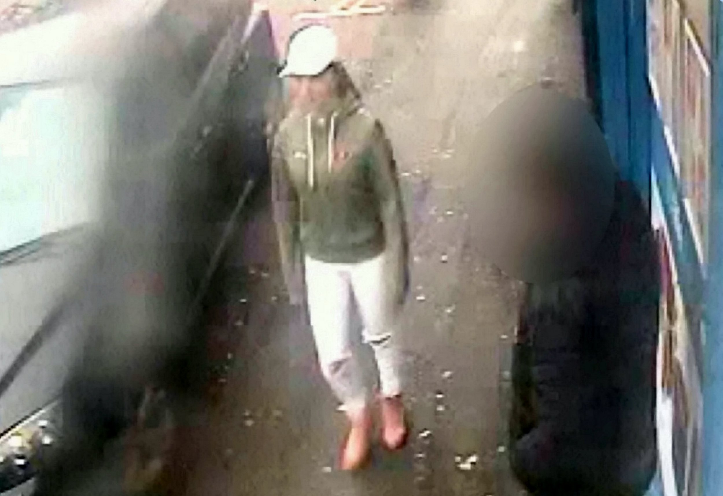 Chilling CCTV captures the final moments of a schoolgirl as she walks towards a park where she was allegedly brutally raped and murdered by a pal. See SWNS story SWMDmurder. Viktorija Sokolova, 14, sneaked out of her house to meet a boy she has been exchanging Facebook messages with on April 11 this year. The following morning her half-naked body was discovered by a dog walker propped up against a bench in West Park, Wolverhampton. A 16-year-old boy, who cannot be named, has gone on trial charged with murder and rape at Wolverhampton Crown Court. A jury of eight women and four men were today (Thurs) continuing a second day of deliberations as they considered their verdict.