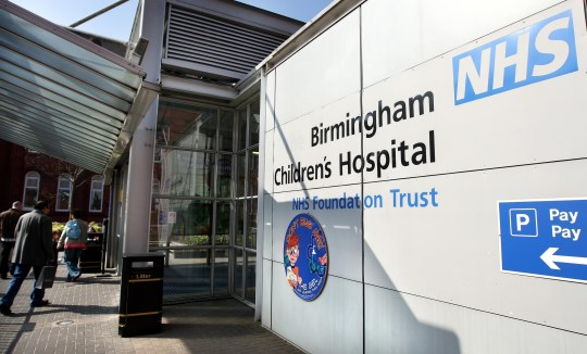 The exterior of Birmingham Children's Hospital. A damning report into one of Britain's leading children's hospitals revealed a catalogue of serious failings today.