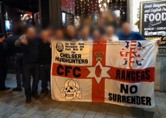 Chelsea fans took flag with Nazi symbol to match condemned for