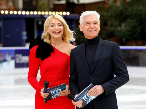 Holly Willoughby's message from Phillip Schofield that had her close to tears as pair reunite