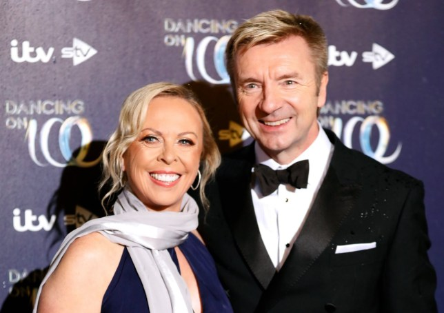 Jayne Torvill and Christopher Dean attending the press launch for the upcoming series of Dancing On Ice at the Natural History Museum in Kensington, London. Picture date: Tuesday December 18, 2018. Photo credit should read: David Parry/PA Wire