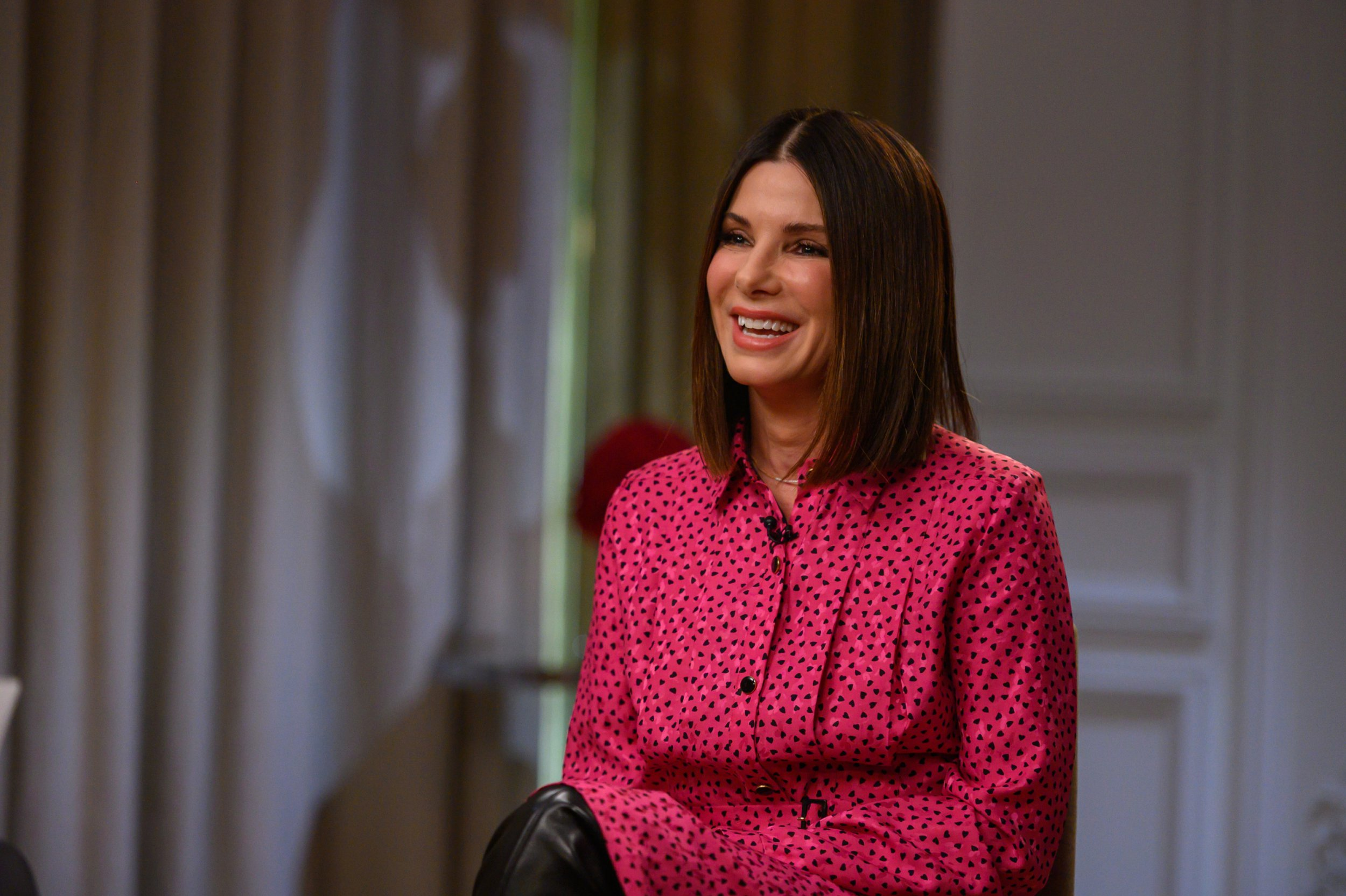TODAY -- Pictured: Sandra Bullock on Tuesday, December 18, 2018 -- (Photo by: Nathan Congleton/NBC/NBCU Photo Bank via Getty Images)