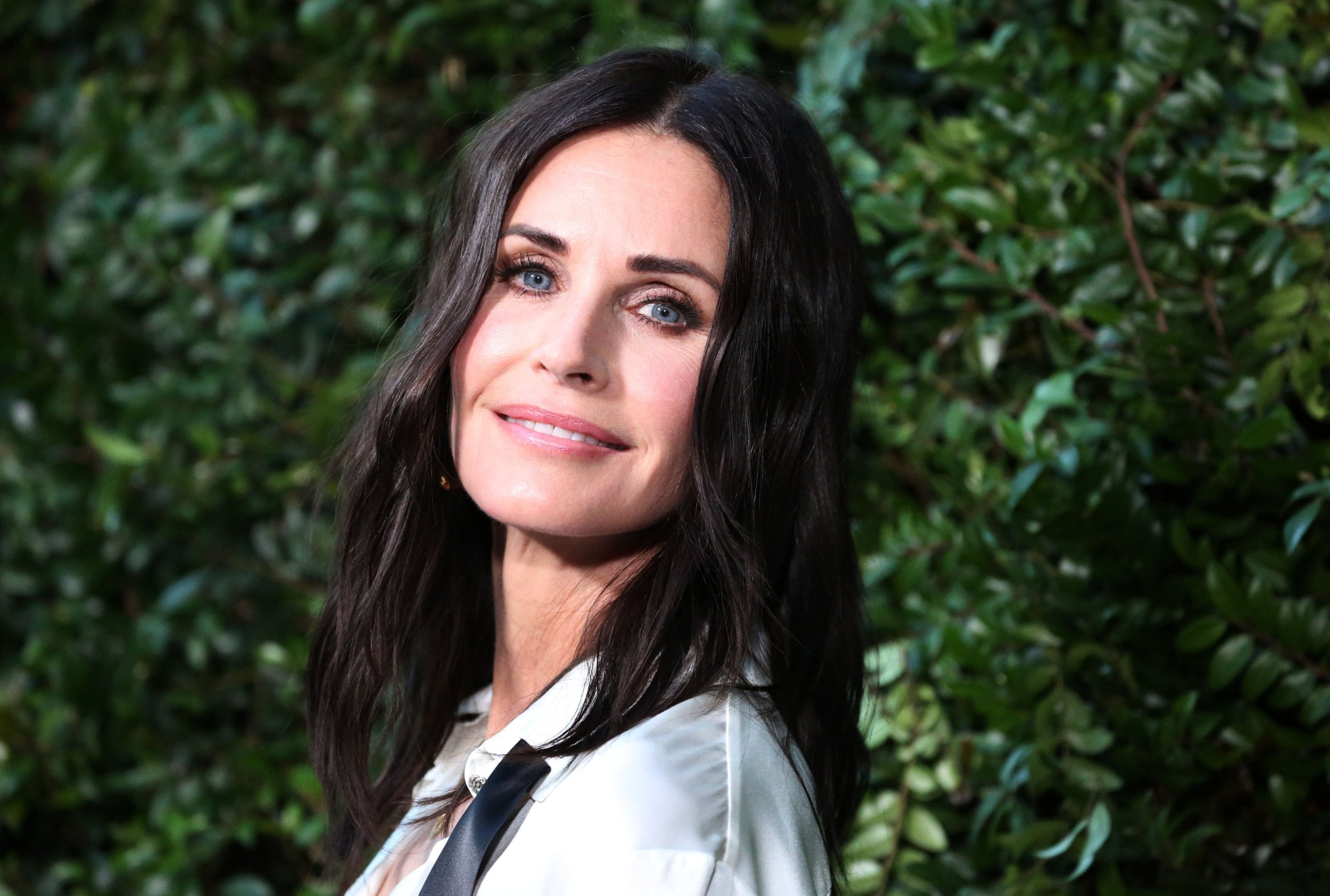 Mandatory Credit: Photo by Matt Baron/REX/Shutterstock (9699516di) Courteney Cox Chanel NRDC dinner, Arrivals, Los Angeles, USA - 02 Jun 2018